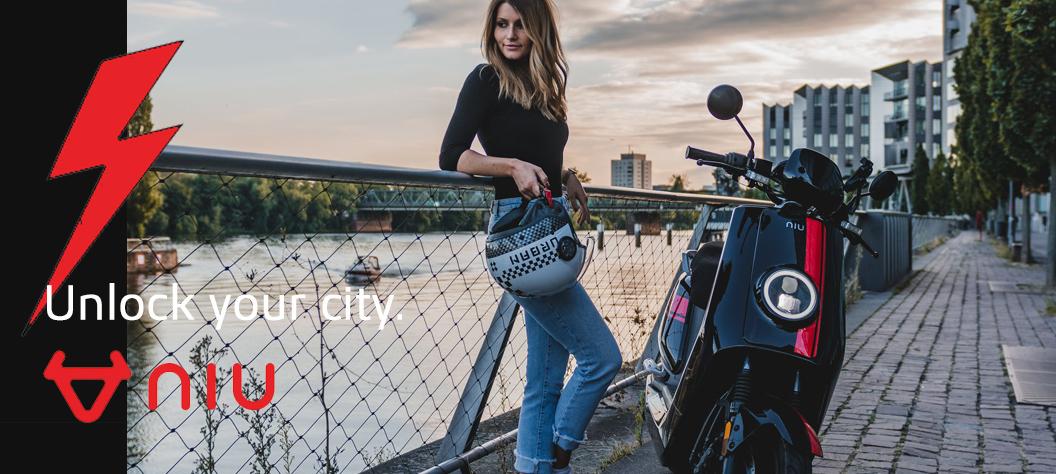 Niu elektrische scooters