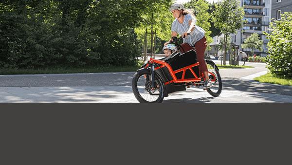Elektrische cargo fiets