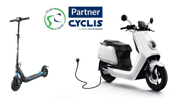 elektrische scooter leasing